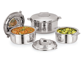 Jet Stainless Steel Insulated Casserole