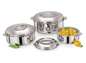 Royal Stainless Steel Insulated Casserole
