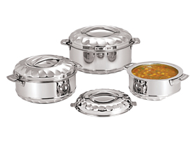 Solitaire Stainless Steel Insulated Casserole